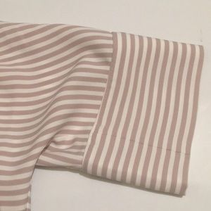 Express Tops - NWT Express striped blouse.
